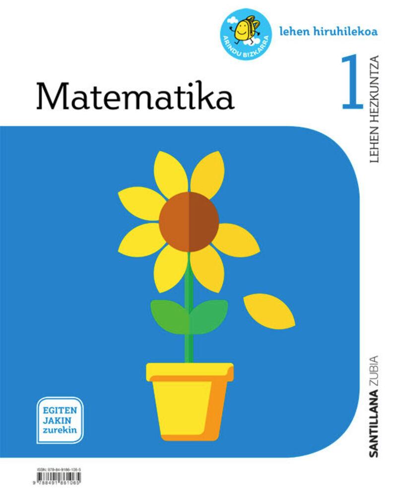 LH 1 - MATEMATIKA - EGITEN JAKIN ZUREKIN
