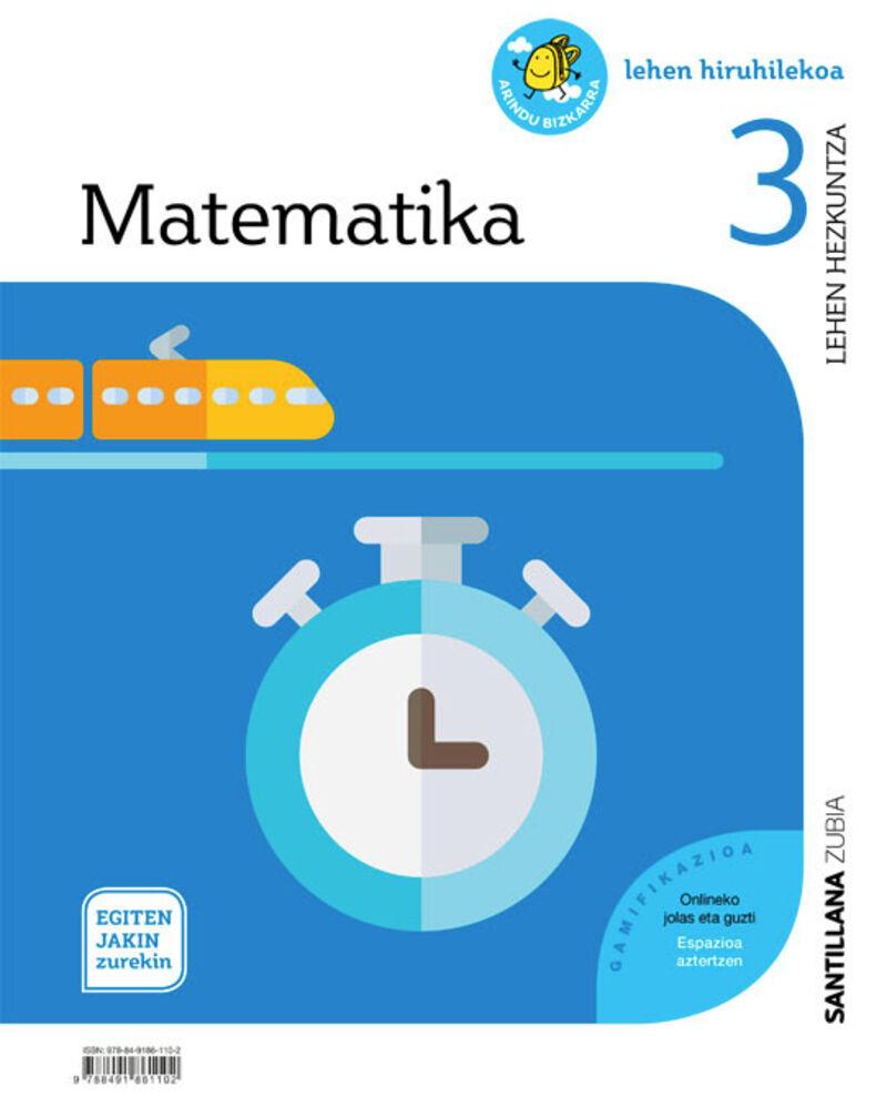 LH 3 - MATEMATIKA - EGITEN JAKIN ZUREKIN