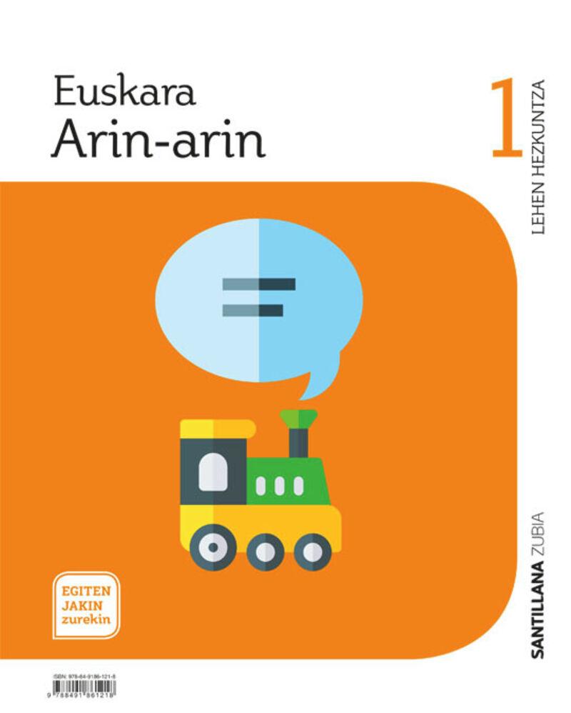 LH 1 - EUSKARA - ARIN-ARIN - EGITEN JAKIN ZUREKIN - MARTXAN