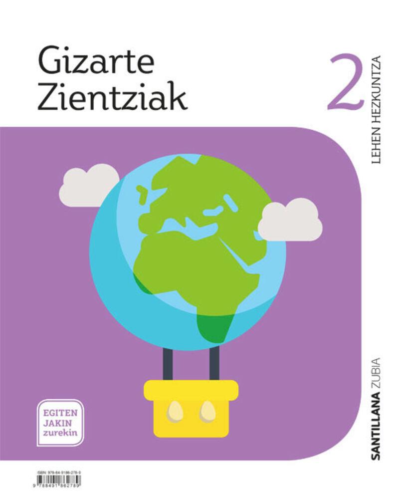 Lh 2 - Gizarte Zientziak - Egiten Jakin Zurekin - Aa. Vv.