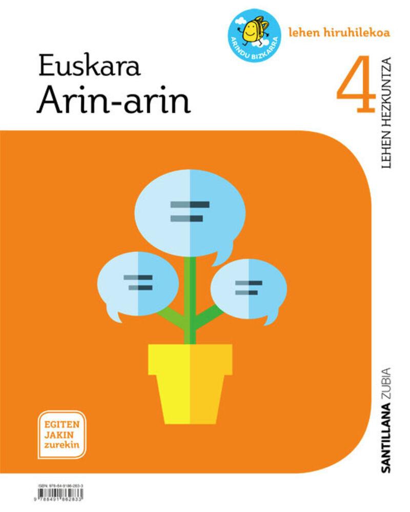 LH 4 - EUSKARA- ARIN-ARIN - EGITEN JAKIN ZUREKIN