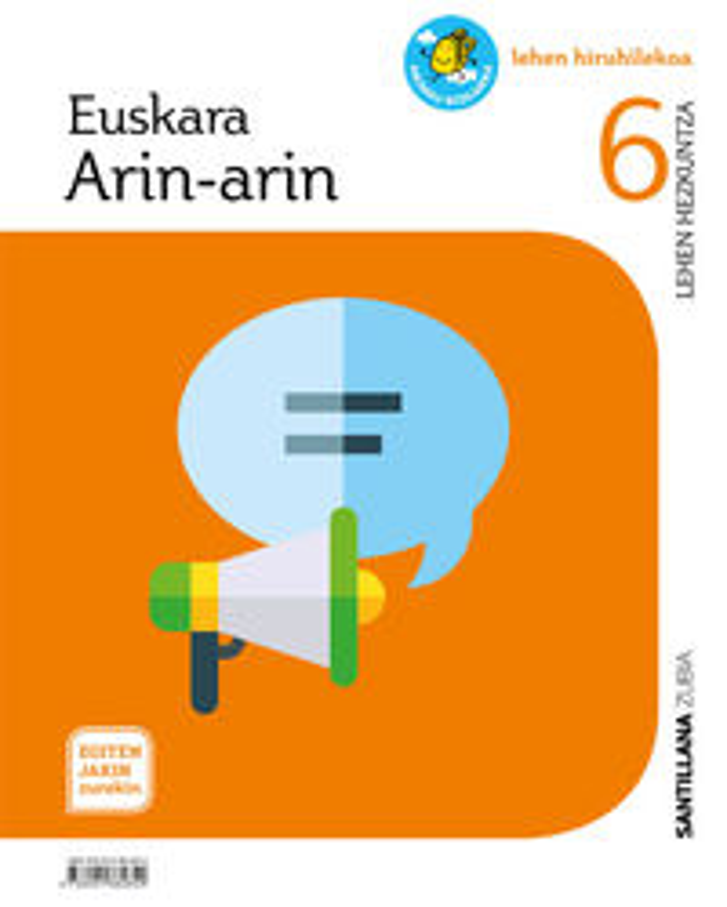LH 6 - EUSKARA - ARIN-ARIN - EGITEN JAKIN ZUREKIN