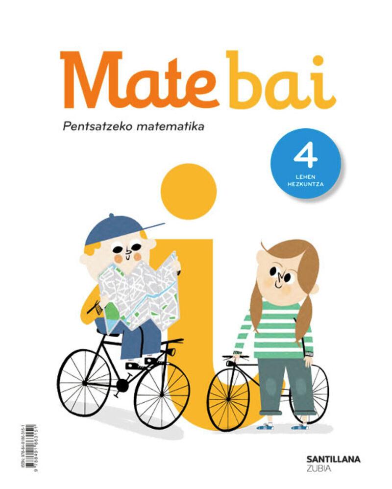 LH 4 - MATEMATIKA - MATE BAI - PENTSATZEKO MATEMATIKA