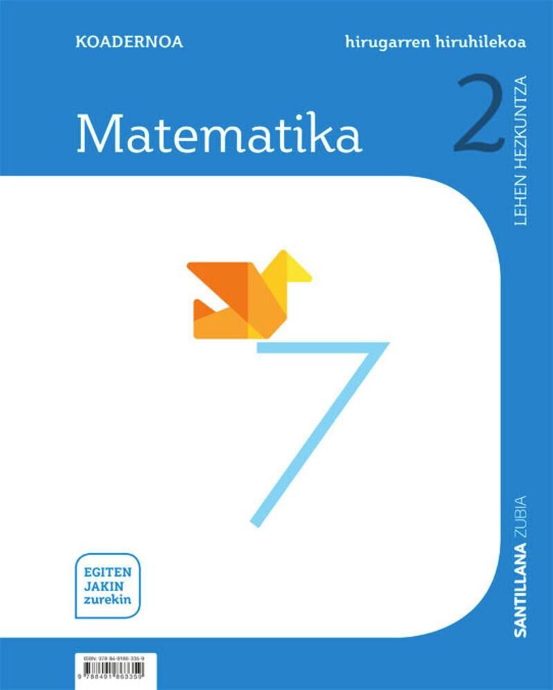 LH 2 - MATEMATIKA KOAD 3 - EGITEN JAKIN ZUREKIN