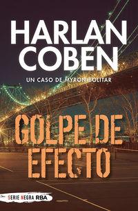 golpe de efecto - myron bolitar 2 - Harlan Coben