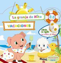 2-3 AÑOS - CUAD VACACIONES - GRANJA DE NITO