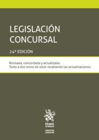 (24 ED) LEGISLACION CONCURSAL