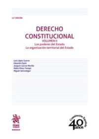 (11 Ed) Derecho Constitucional Ii - Luis Lopez Guerra / [ET AL. ]