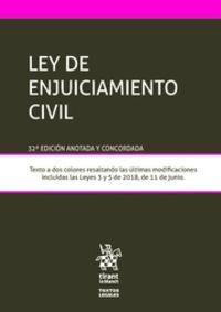 (32 ED) LEY DE ENJUICIAMIENTO CIVIL