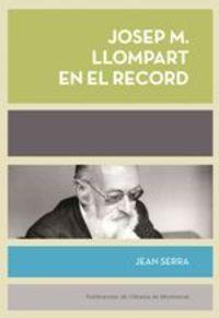 Josep Maria Llompart En El Record - Jean Serra