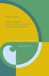 RIMAS HUMANAS Y DIVINAS DEL LICENCIADO TOME DE BURGUILLOS