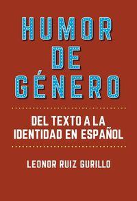 HUMOR DE GENERO - DEL TEXTO A LA IDENTIDAD EN ESPAÑOL