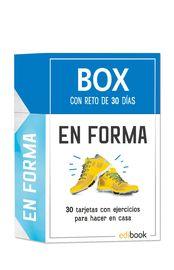 BOX CON RETO DE 30 DIAS - EN FORMA