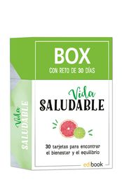 BOX CON RETO DE 30 DIAS - VIDA SALUDABLE
