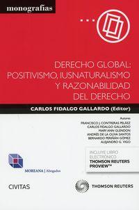 DERECHO GLOBAL: POSITIVISMO, IUSNATURALISMO Y RAZONABILIDAD DEL DERECHO (DUO)