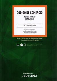(25 Ed) Codigo De Comercio (duo) - Ramon Garcia Luengo (ed. )