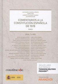 COMENTARIOS A LA CONSTITUCION ESPAÑOLA VOLUMEN I Y II (DUO)