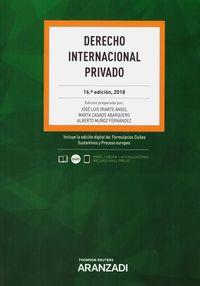 (16 ED) DERECHO INTERNACIONAL PRIVADO (DUO)