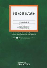 (25 Ed) Codigo Tributario (duo) - Eugenio Simon Acosta / Ramon Falcon Y Tella / Gaspar De La Peña Velasco