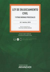 (24 ED) LEY DE ENJUICIAMIENTO CIVIL (DUO)