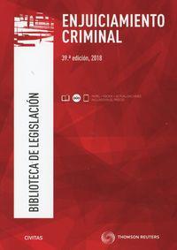 (39 Ed) Enjuiciamiento Criminal (duo) - Aa. Vv.