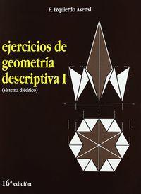 EJERCICIOS DE GEOMETRIA DESCRIPTIVA I (SISTEMA DIEDRICO)