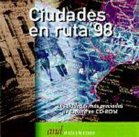 (CD-ROM) CIUDADES EN RUTA'98