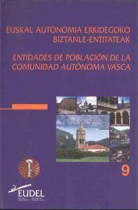 E. A. E. BIZTANLE ENTITATEAK / ENTIDADES POBLACION C. A. V.