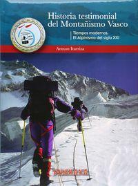 HISTORIA TESTIMONIAL DEL MONTAÑISMO VASCO (III)