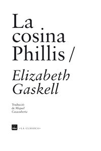 La cosina phillis - Elizabeth Gaskell