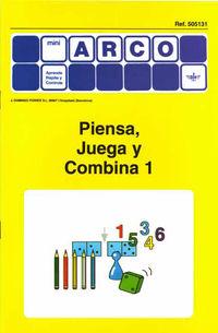 MINI-ARCO PIENSA, JUEGA Y COMBINA 1