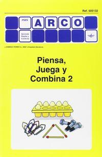 MINI-ARCO PIENSA, JUEGA Y COMBINA 2