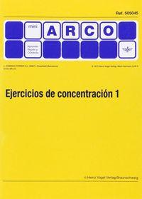 MINI-ARCO EJERCICIO CONCENTRACION 1