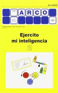 MINI-ARCO EJERCITO MI INTELIGENCIA 2