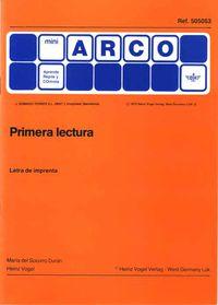 MINI-ARCO PRIMERA LECTURA