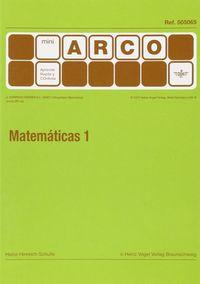MINI-ARCO MATEMATICAS 1