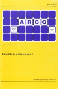 ARCO EJERCICIOS CONCENTRACION 1