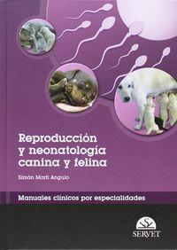 Reproduccion Y Neonatologia Canina Y Felina - Simon Marti Angulo