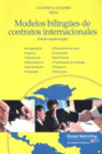 Modelos Bilingues De Contratos Internacionales - Olegario Llamazares