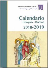 CALENDARIO LITURGICO PASTORAL 2018-2019 (+AGENDA) (+SALMOS)