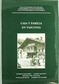 CASA Y FAMILIA EN VASCONIA - ATLAS ETNOGRAFIKOA