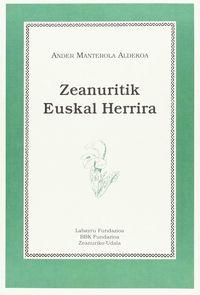 Zeanuritik Euskal Herrira - Ander Manterola Aldekoa