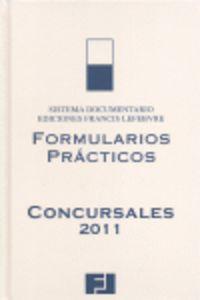 Formularios Concursales 2011 - Aa. Vv.