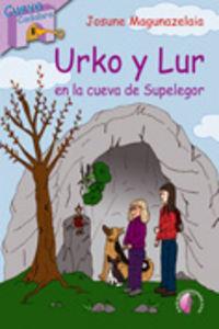urko y lur en la cueva de supelegor - Josune Magunazelaia