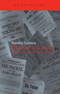 El laberinto de la palabra - Sandra Santana