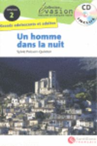 Un  niveau 2 - homme dans la nuit (+cd) - Sylvie Poisson Quinton
