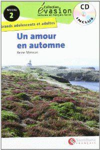 Un  niveau 2 - amour en automne (+cd) - Reine Mimran