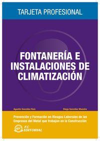 FONTANERIA E INSTALACIONES DE CLIMATIZACION