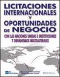 Licitaciones Internacionales Y Oportunidades De Negocio - Miguel Angel Martin Martin