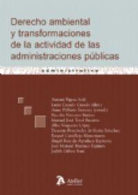 DERECHO AMBIENTAL Y TRANSFORMACIONES DE ACTIVIDAD